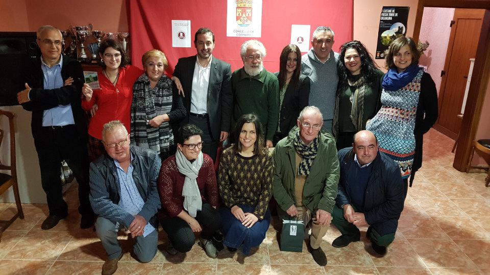 Entrega de premios do «I Certame de Poesía Torre de Caldaloba»